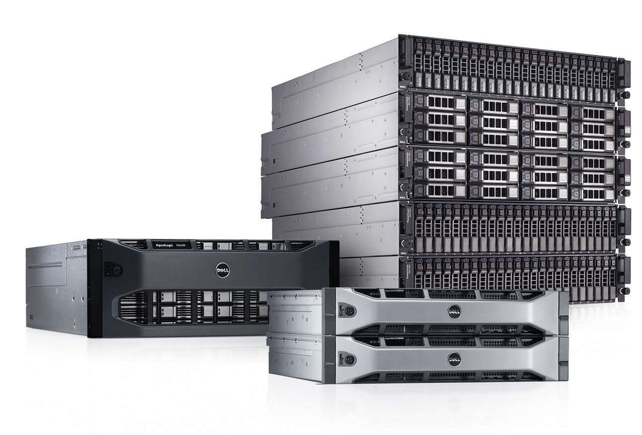 Dell Support for server, storage, blade and tape library